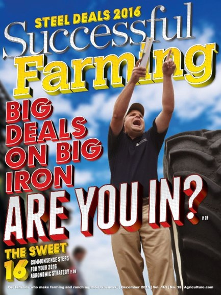 Successful Farming Cover - 12/1/2015