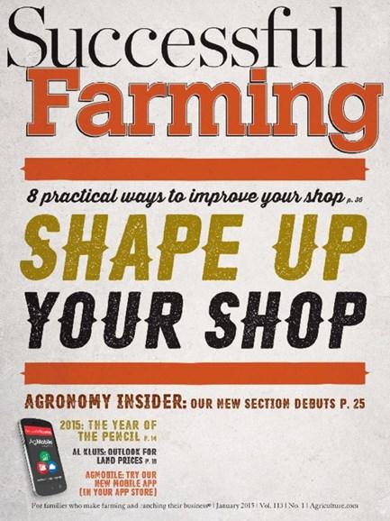 Successful Farming Cover - 1/1/2015