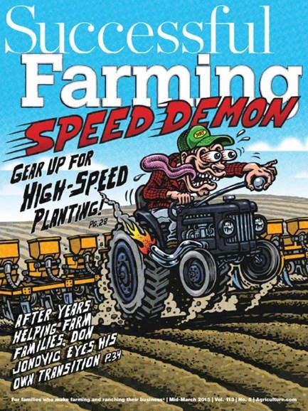 Successful Farming Cover - 3/15/2015