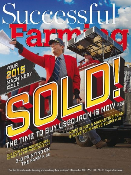 Successful Farming Cover - 12/1/2014