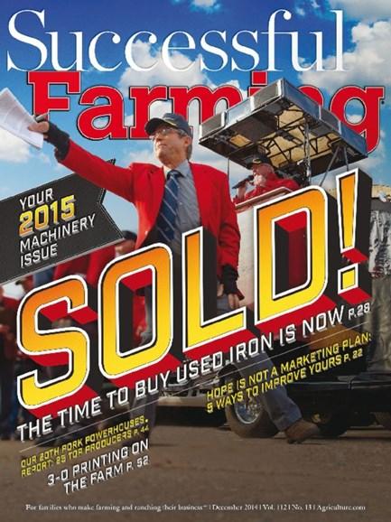 Successful Farming Cover - 12/1/2014