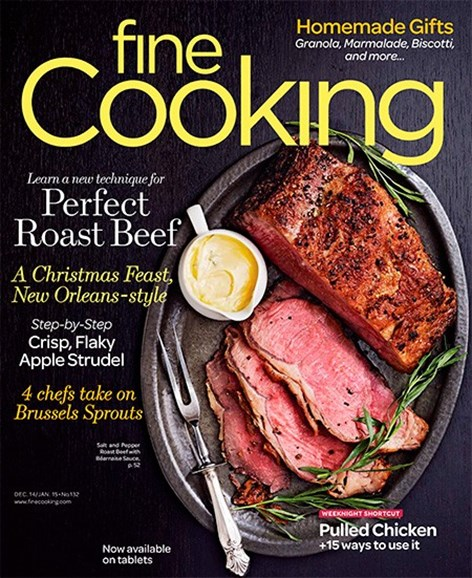 Fine Cooking Cover - 12/1/2014