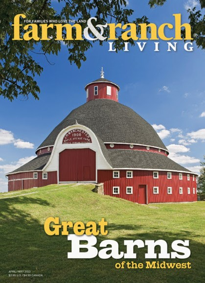 Farm & Ranch Living Cover - 4/1/2013