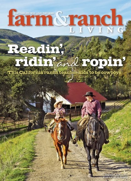 Farm & Ranch Living Cover - 2/1/2013