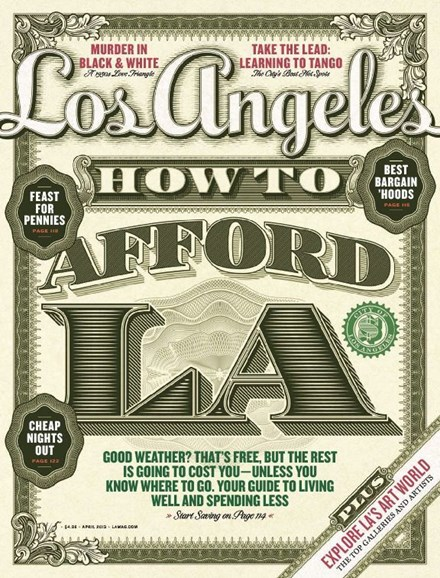 Los Angeles Cover - 4/1/2013