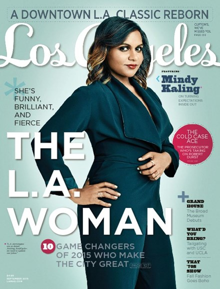 Los Angeles Cover - 9/1/2015