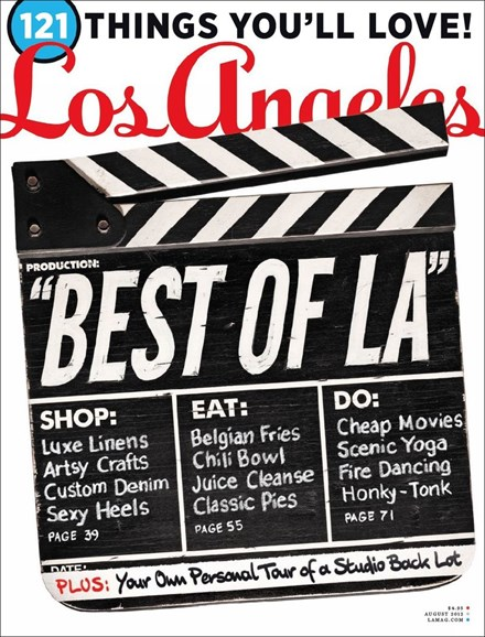 Los Angeles Cover - 8/1/2012
