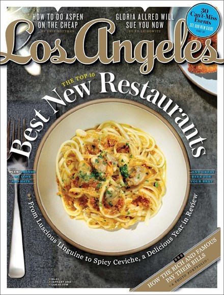 Los Angeles Cover - 1/1/2012