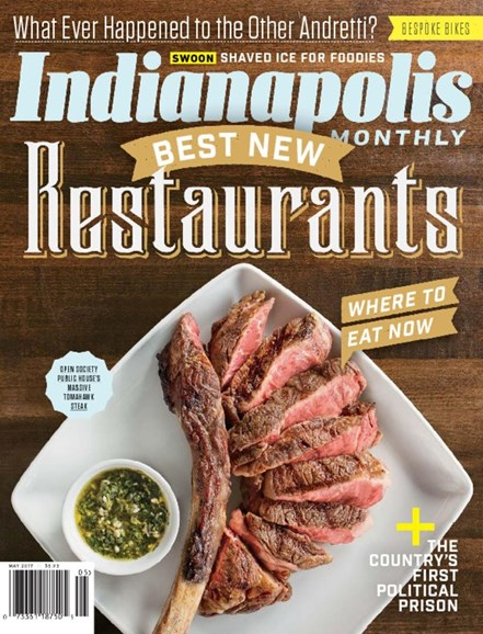 Indianapolis Monthly Cover - 5/1/2017