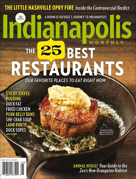 Indianapolis Monthly Cover - 5/1/2014