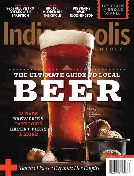 Indianapolis Monthly Cover - 4/1/2012