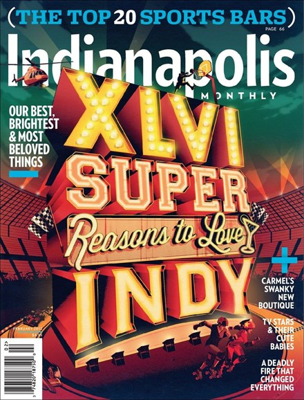 Indianapolis Monthly Cover - 2/1/2012