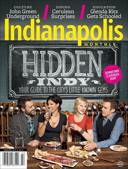 Indianapolis Monthly Cover - 2/1/2013