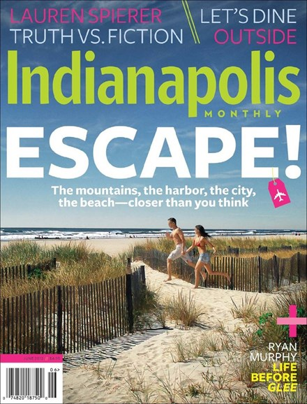 Indianapolis Monthly Cover - 6/1/2012