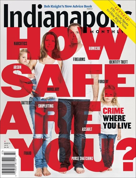 Indianapolis Monthly Cover - 3/1/2013