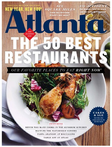 Atlanta Magazine Cover - 1/1/2016