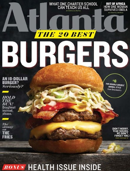 Atlanta Magazine Cover - 1/1/2015