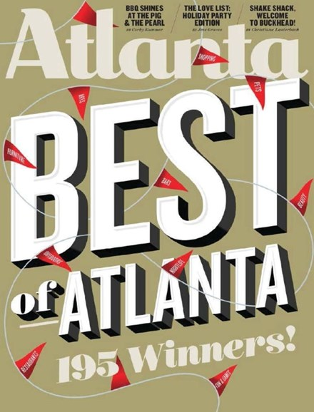 Atlanta Magazine Cover - 12/1/2014