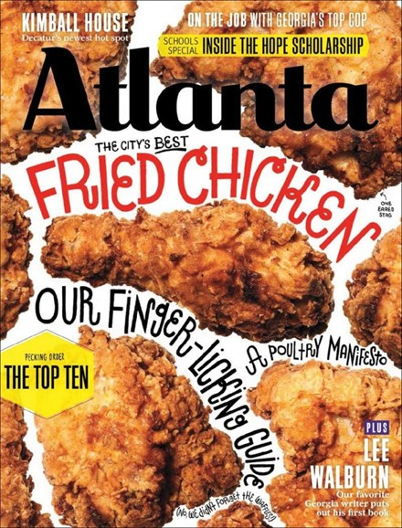 Atlanta Magazine Cover - 1/1/2014