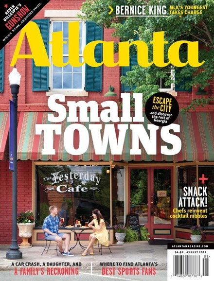 Atlanta Magazine Cover - 8/1/2013