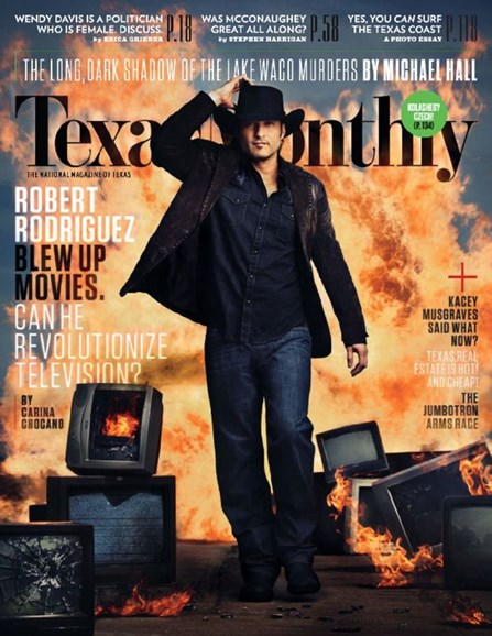 Texas Monthly Cover - 4/1/2014