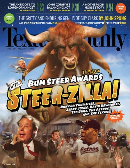 Texas Monthly Cover - 1/1/2014