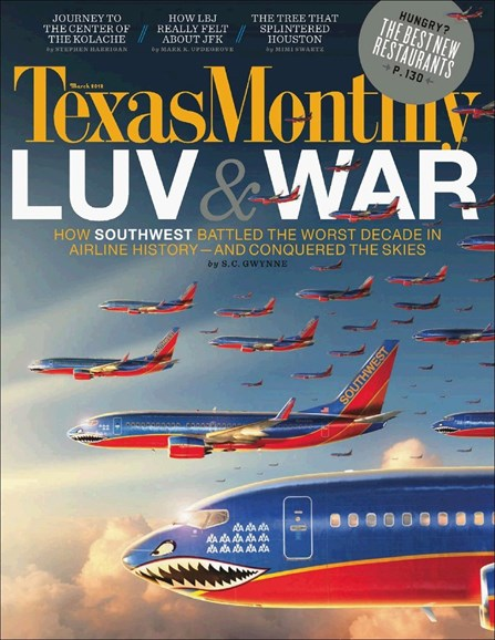 Texas Monthly Cover - 3/1/2012