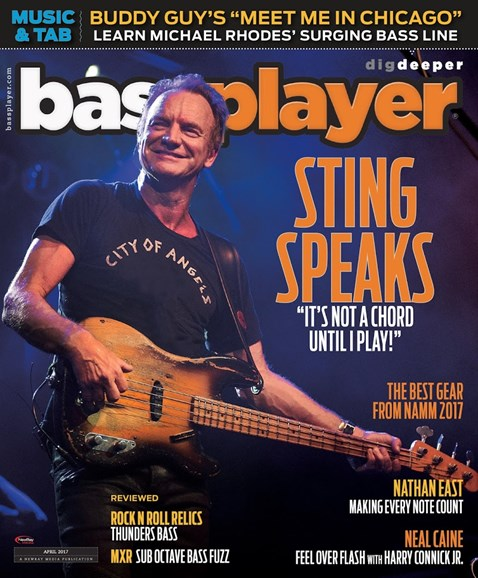 Bass Player Cover - 4/1/2017