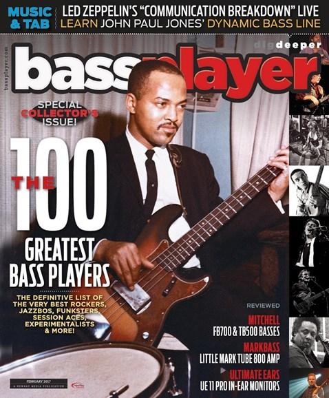 Bass Player Cover - 2/1/2017
