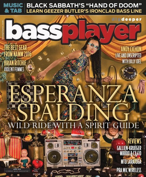 Bass Player Cover - 4/1/2016