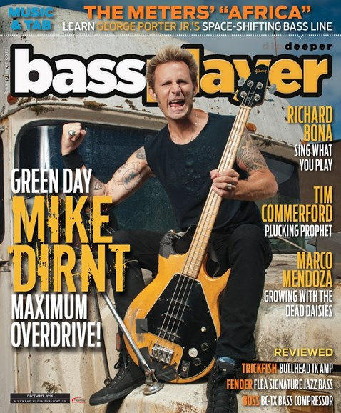 Bass Player Cover - 12/1/2016