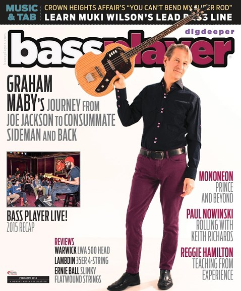 Bass Player Cover - 2/1/2016