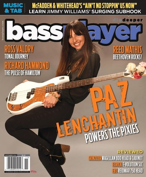 Bass Player Cover - 11/1/2016