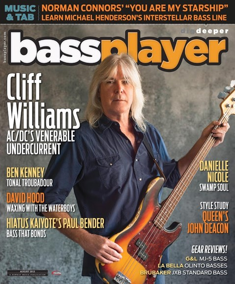 Bass Player Cover - 8/1/2015