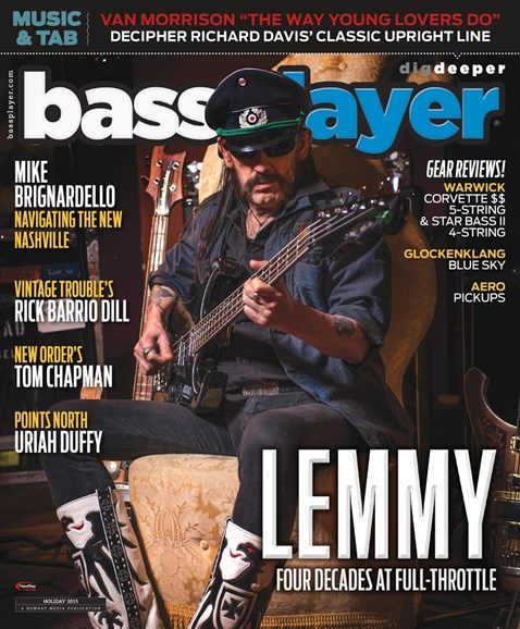 Bass Player Cover - 12/25/2015