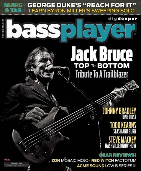 Bass Player Cover - 2/1/2015