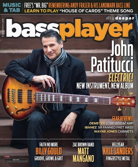 Bass Player Cover - 7/1/2015
