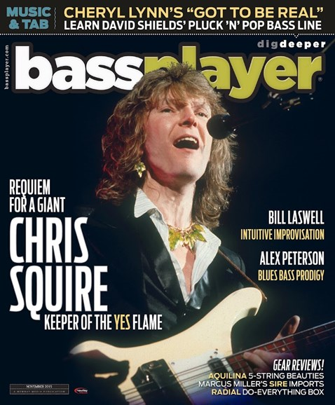 Bass Player Cover - 11/1/2015