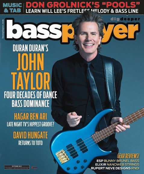 Bass Player Cover - 10/1/2015