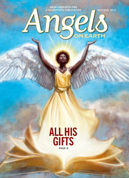Angels on Earth Cover - 7/1/2015