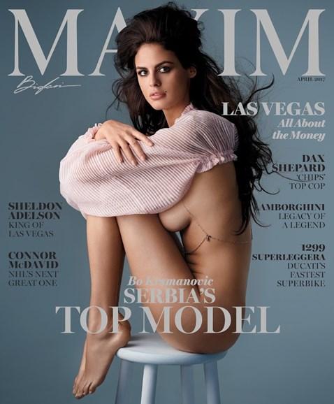 Maxim Cover - 4/1/2017