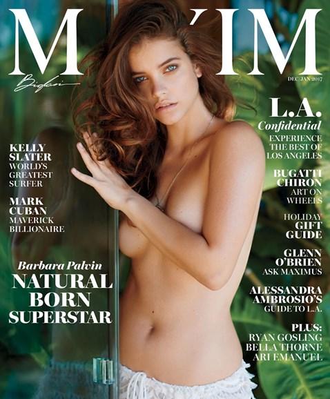 Maxim Cover - 12/1/2016