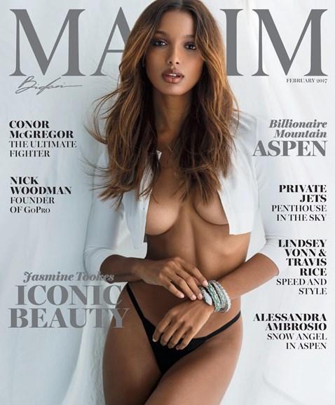 Maxim Cover - 2/1/2017