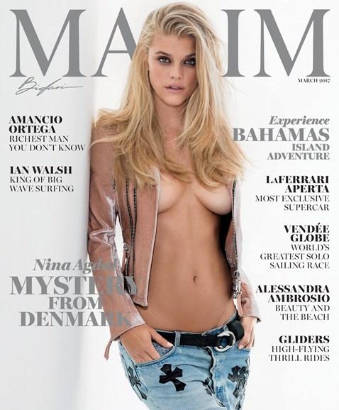 Maxim Cover - 3/1/2017