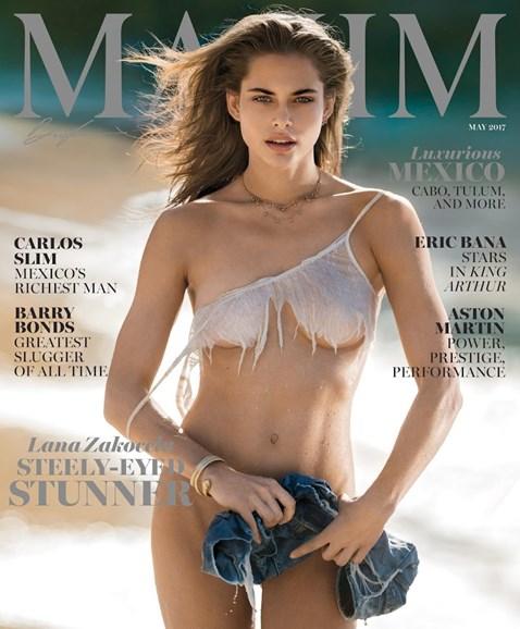 Maxim Cover - 5/1/2017