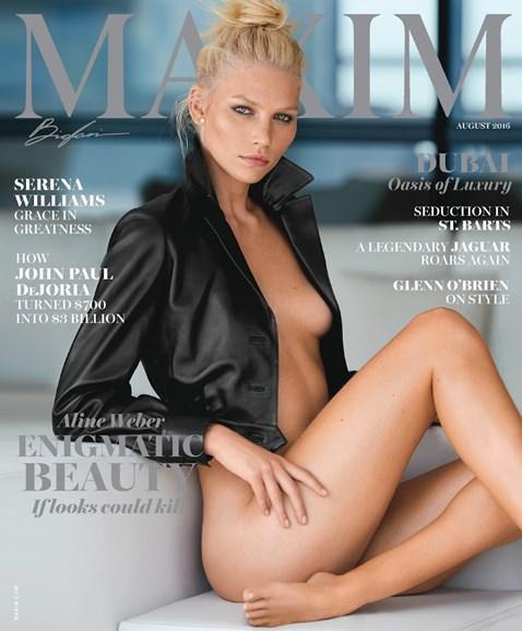 Maxim Cover - 8/1/2016