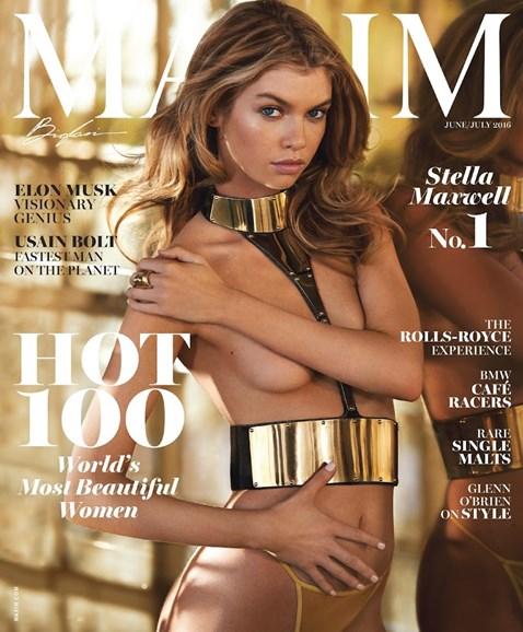Maxim Cover - 6/1/2016