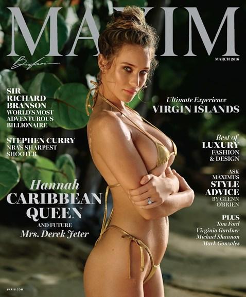 Maxim Cover - 3/1/2016