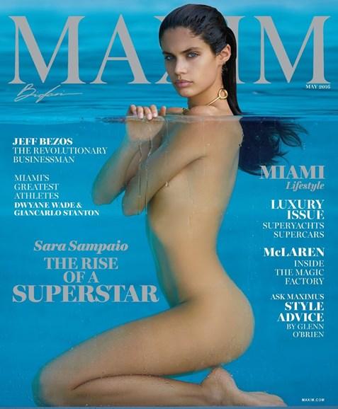 Maxim Cover - 5/1/2016