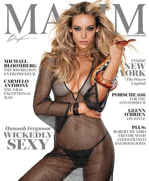 Maxim Cover - 11/1/2016